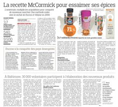Comment l'américain McCormick essaime ses épices