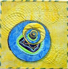 Sheep's Eyes - fractal quilt by Rose Rushbrooke. Image copyright © Rose Rushbrooke.