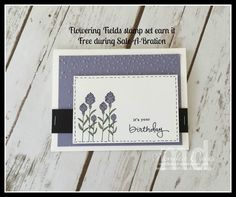 Flowering Fields Stampin' Up!