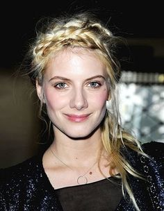 Melanie Laurent braid