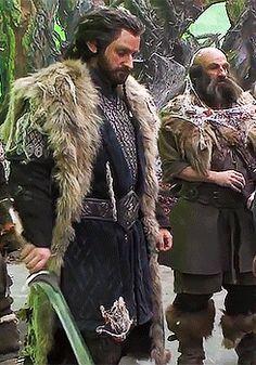 Richard Armitage as Thorin Oakenshield in The Hobbit Trilogies (2012-2014) (gif)