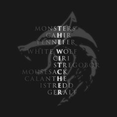 Check out this awesome 'White+Wolf+-+characters' design on