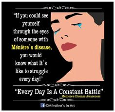 Every day is a constant battle
