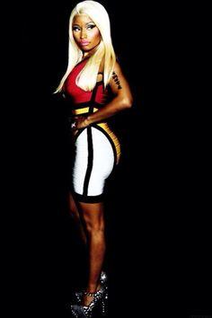 Gorgeous Nicki Minaj. Come Get In The MYX with Nicki Minaj at myxfusions.com
