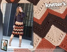 Ravelry: Peak & Valley Skirt pattern by Jill Bigelow-Suttell