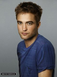 Robert Pattinson...when he's not acting like a goofy brit.