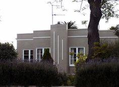 #Grey Art Deco House