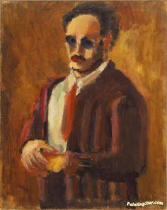 Self Portrait, 1936 Artwork By Mark Rothko Oil Painting & Art Prints On Canvas For Sale Mark Rothko Paintings, Rothko Art, Abstract Painters, Abstract Art, Abstract Nature, Charles Angrand, Edward Hopper, Art Moderne, Henri Matisse