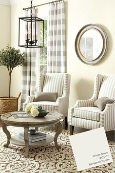 Benjamin Moore White Dove Paint Color From Ballard Designs Catalog