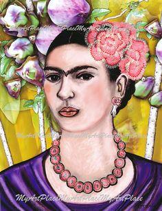 Frida Kahlo Art Postcards