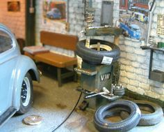 Miniature MODEL CARS>> DIORAMA HEAVEN — Speedhunters