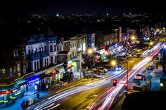 Adams Morgan- fun stomping ground with funky bars, restaurants and shops.