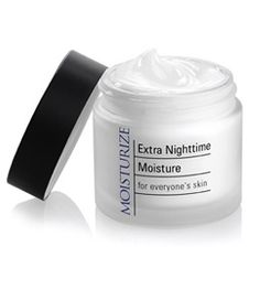 DHC Extra Nighttime Moisture is a rich moisturizer that can help your skin recover from the day's damage with antioxidant olive oil, moisture-binding sodium hyaluronate, and firming collagen. $36.00