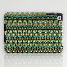 Cute Mr. Hoot iPad Case by Joanne Paynter - $60.00