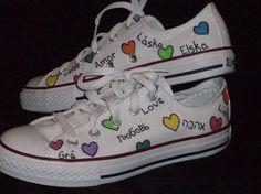 b47222618 Items similar to All You Need is Love Converse on Etsy. TenisZapatos ...