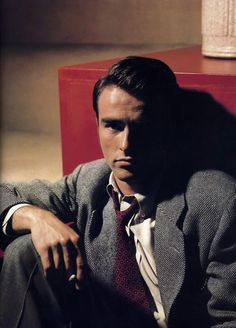 """Montgomery Clift. Elizabeth Taylor and Montgomery Clift were very close, beloved friends. I loved the movie where he played a priest. """"I Confess""""... Very suspenseful!"""