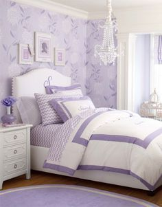 Attrayant Purple Bedroom Girl (purple Bedroom Ideas) Tags: Purple Bedroom Ideas  Purple Bedroom Teen Purple Bedroom Boheiman Purple Bedroom Paint Grey And  Purple ...