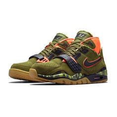 4c345d5366 The Nike Air Trainer SC II 'Bo's Bow and Arrow' in Faded Olive is available  now to purchase at the links below. This Bo Jackson trainer is the next in  line ...
