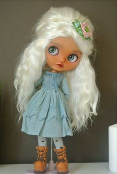 Купить Ooak Blythe custom / Кастом Блайз (Блайт) Jane Bennett в интернет магазине на Ярмарке Мастеров