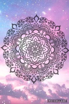 Twilight colors mandala cell wallpaper iphone wallpaper glitter, wallpaper for your phone, screen wallpaper Mandala Art, Henna Mandala, Mandalas Painting, Mandala Drawing, Mandala Design, Phone Backgrounds Tumblr, Cute Wallpaper Backgrounds, Screen Wallpaper, Cool Wallpaper