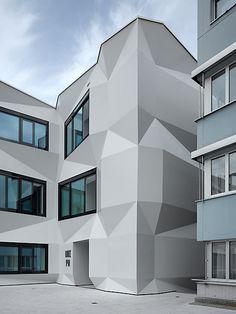 University of Teacher Education PHZ | Lucern, Switzerland | Enzmann Fischer Architekten BSA | photo by Roger Frei