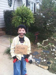 My son's Halloween costume:)