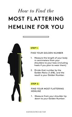 Style tips How to Make Your Legs Look Slim Every Time Your most flattering hemline : hemline golden ratio Mode Bcbg, Golden Number, Look Thinner, Looks Cool, Look Fashion, Womens Fashion, Fashion Clothes, Latest Fashion, Stylish Clothes