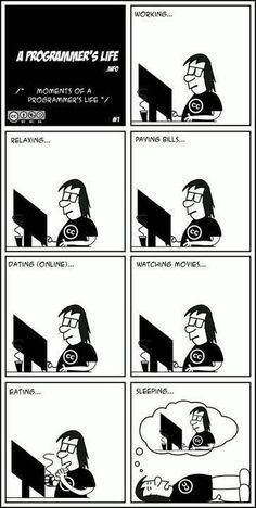 This cartoon strip. A Programmer's life | 27 Things Only Developers Will Find Funny