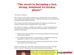 (adsbygoogle = window.adsbygoogle    []).push();     (adsbygoogle = window.adsbygoogle    []).push();  off-ice training   ice hockey training   hockey training    http://www.hockeytrainingu.com/ review     (adsbygoogle = window.adsbygoogle    []).push();  The First Ever...