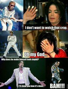Stop it Justin.