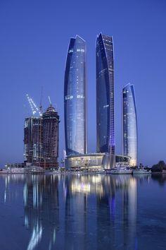 Etihad Towers, Abu Dhabi, United Arab Emirates