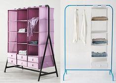 Burros o expositores de ropa se usan para percheros para - Ikea perchas ropa ...