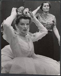 Hepburn, Katharine. From New York Public Library Digital Collections.