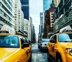 New York, New York  #yellowcab #taxi #newyork #usa #america #city #travel #travelblogger