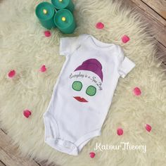 A personal favorite from my Etsy shop https://www.etsy.com/listing/468861248/spa-day-baby-girl-onesie-bodysuit-shirt