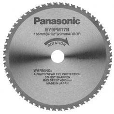 "Panasonic 6-1/2"" Thin Metal Cutting Blade - 70 Teeth"