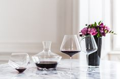 Drinking wine is an art, for which you need the right accessories. Shop the perfect glassware at Boulesse.com Zalto wine glasses and decanter - all available on https://boulesse.com/en/search?q=Zalto