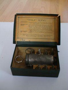 Early vintage Tala icing set