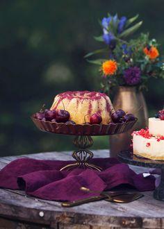 Konjakkimurokakku | Reseptit | Anna.fi Decadent Cakes, Beautiful Cakes, Yummy Cakes, Chocolate Cake, Tea Time, Panna Cotta, Cake Recipes, Birthday Cake, Baking