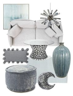 A Hue Of Blue By Celine Eden On Polyvore Featuring Polyvore, Interior,  Interiors