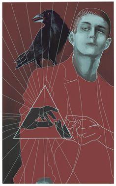 Ronan Lynch Art Print by Louise Delfin | Society6