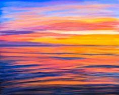 Puesta Del Sol - Rocky Point Digital Art
