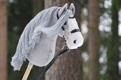 Equestrian helmets might not be the most significant style feeling today, but there are some stories behind them. Rare Horses, Stick Horses, English Riding, Horse Crafts, Hobby Horse, Horse Stables, Advanced Style, Horse Photos, Equine Art