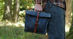 Faded Blue Musette by sketchbook on Etsy, $140.00