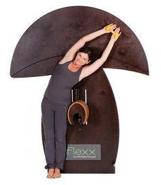 fle-xx Pilz!  Einsatzgebiet:  Nacken, Unterer Rücken & Hüfte | Muskelkette: Latissimus, Trizeps, seitliche Bauchmuskulatur & Adduktoren