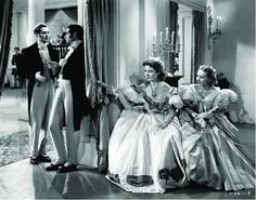 """Pride and Prejudice 1940   >""""She is tolerable, I suppose, but not handsome enough to tempt me;"""