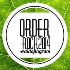What's Your Word? #Rock2014  Bring Order To Chaos!