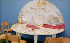 La dînette royale au Pavillon des Familles