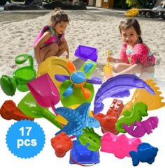 Sand Bucket Beach Toys Have hours of fun while enjoying quality time. Perfect gift idea! http://amzn.to/29T6huD https://dashburst.com/michaela09/157
