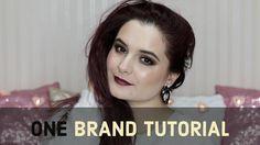 ONE BRAND TUTORIAL: GOLDEN ROSE || Maria Dumitrescu